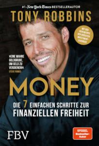 Money - Tony Robbins - Die 7 einfachen Schritte zur finanziellen Freiheit - Buchcover