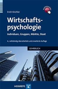 Erich Kirchler - Wirtschaftspsychologie Buchcover