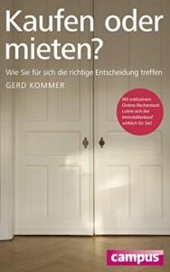 Gerd Kommer - Kaufen oder mieten Buchcover