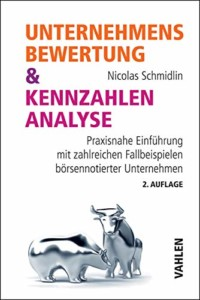 Nicolas Schmidlin - Unternehmensbewertung & Kennzahlenanalyse Buchcover