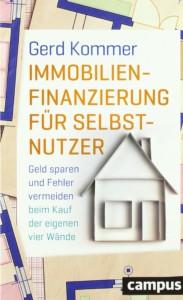 Gerd Kommer - Immobilienfinanzierung für Selbstnutzer Buchcover
