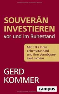 Gerd Kommer - Souverän investieren vor und im Ruhestand Buchcover