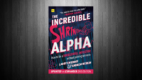 The Incredible Shrinking Alpha Blogbanner